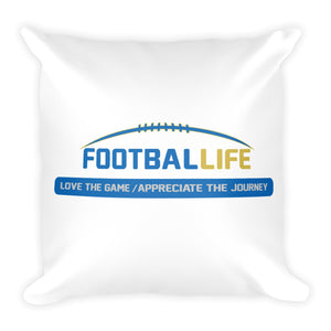FOOTBALLIFE square pillow