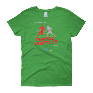Playing Women's short sleeve t-shirt #2 - FOOTBALLIFE