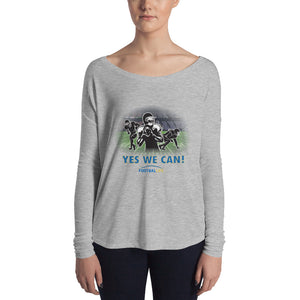 Yes! Ladies' Long Sleeve Relaxed Tee