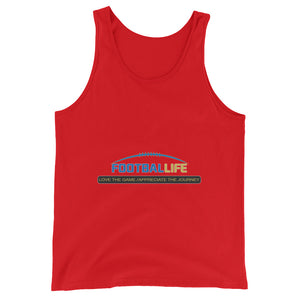 The Life Unisex Tank Top - FOOTBALLIFE