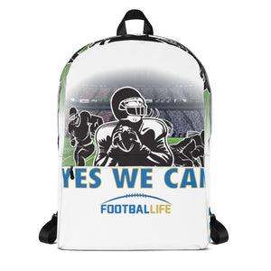Yes We Can Backpack thefootballife.com