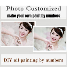 Custom Photo - Make Your Own DIY Custom Paint By Numbers