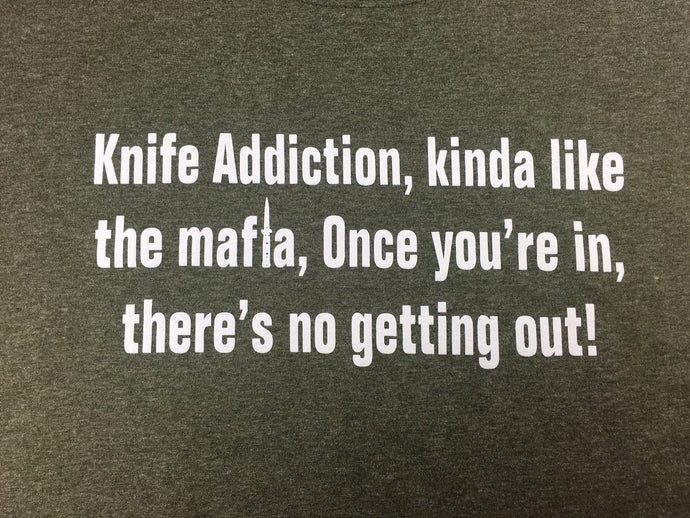 Knife Addiction T-Shirt