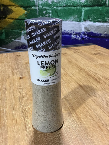 Cape Herb Shaker Lemon & Pepper 290g