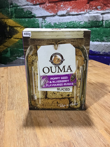 Ouma Rusks Blueberry 450g