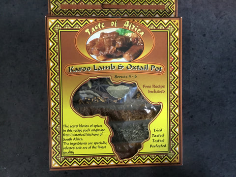 Taste of Africa Karoo Lamb & Oxtail Pot 60g