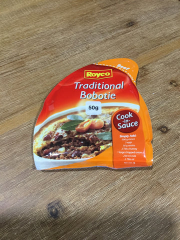 Royco C/S Traditional Bobotie