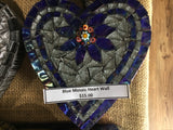 Mosaic Lorna  Blue Heart Wall $12