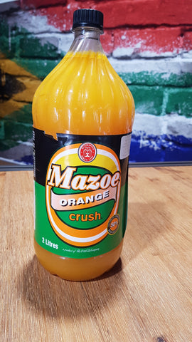 Mazoe Orange Crush ZIM 2 lt