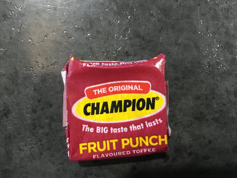 Wilsons Champion Toffee FRUIT PUNCH