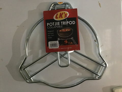 Potjie Stand Collapsible Tripod