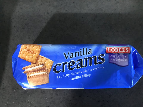 Lobel Biscuits Vanilla Creams 150g