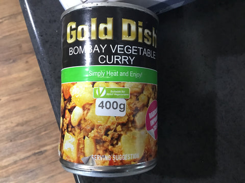 Gold Dish Bombay Veg Curry 400g