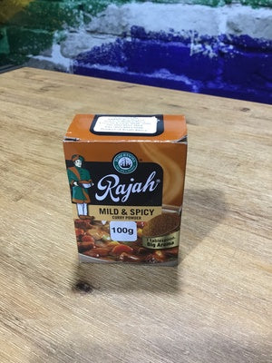 Rajah Mild & Spicey Curry (L) 100g