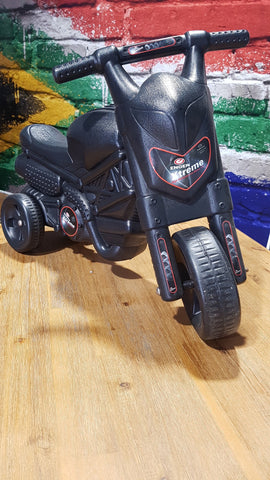 Kids Motard Black Scooter Bike