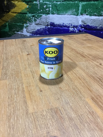 Koo Pear Halves in syrup 410g