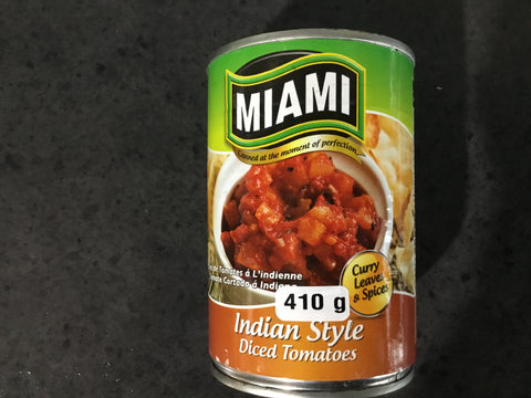 Miami Indian Style Tomato 410g
