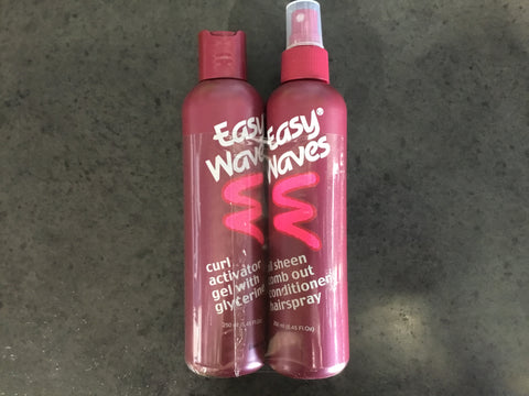 Easy Waves Curl Activator Gel & Comb-Out Twin Pack