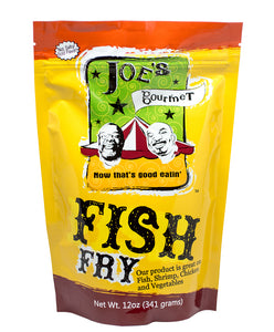 Joe's Gourmet Fish Fry 12oz Package