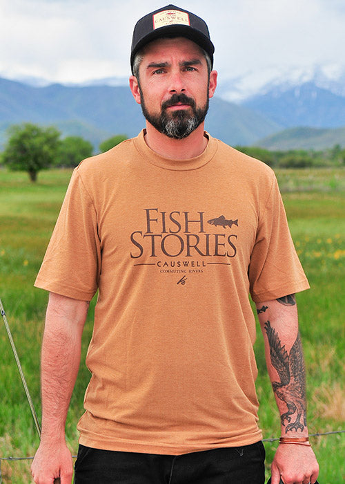 Causwell Fish Stories ProTec Tee
