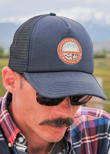 Causwell CR Stamp Adjustable Trucker Cap