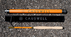 12' Causwell Tenkara Rod with Storage Tube 1