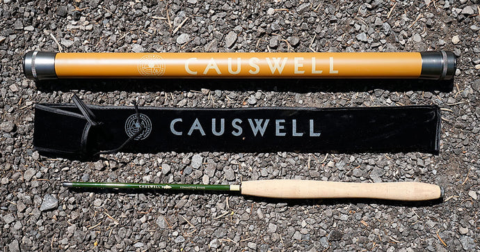 8' Causwell Tenkara Rod with Storage Tube - 1