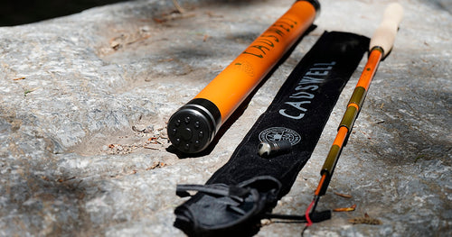 12' Causwell Tenkara Rod with Storage Tube 2