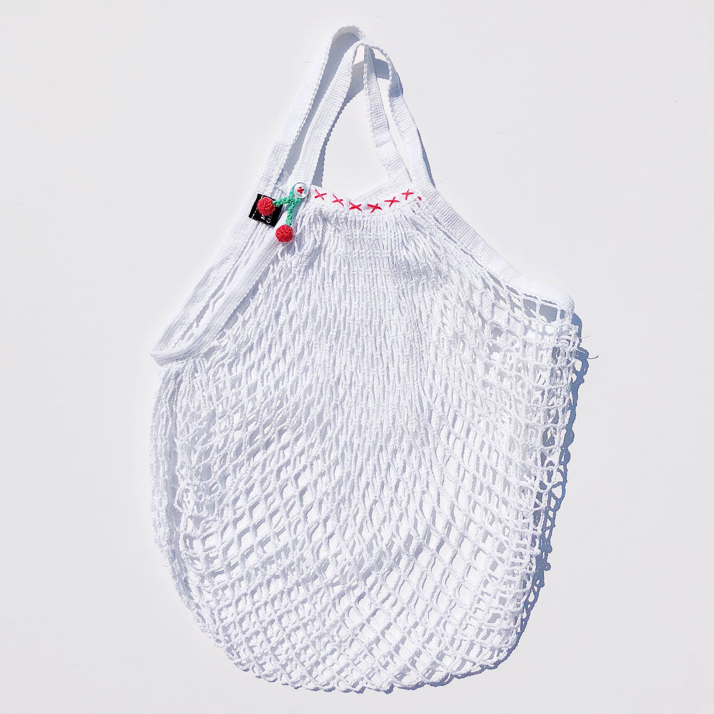 White French Net Bags