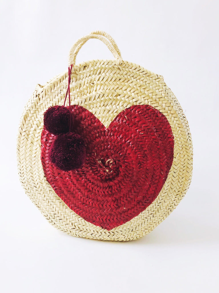 Big Round Straw Moroccan Basket - COMING SOON BETTER THAN EVER!