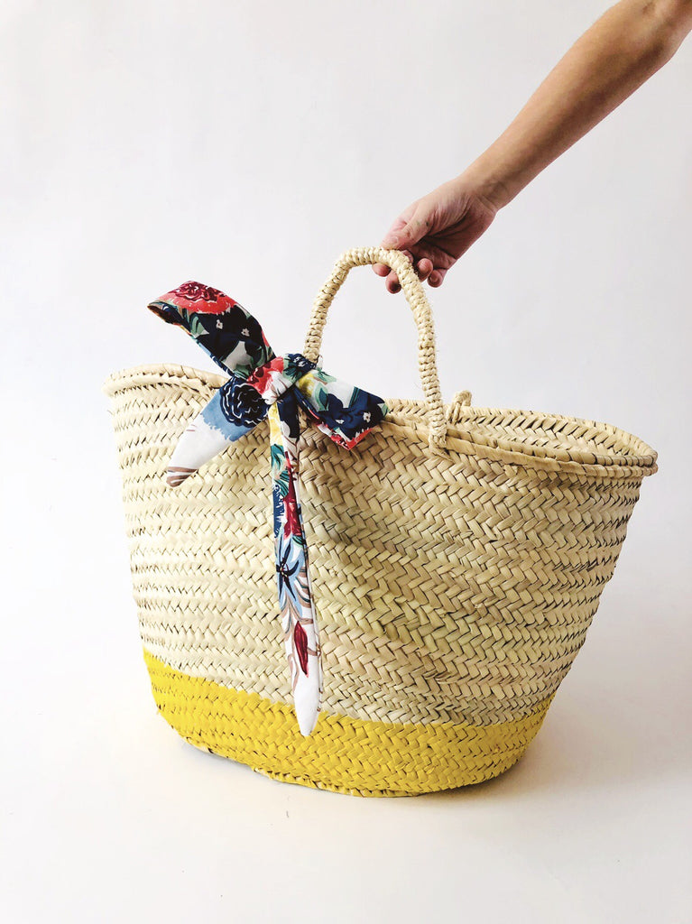 Jumbo Straw Basket