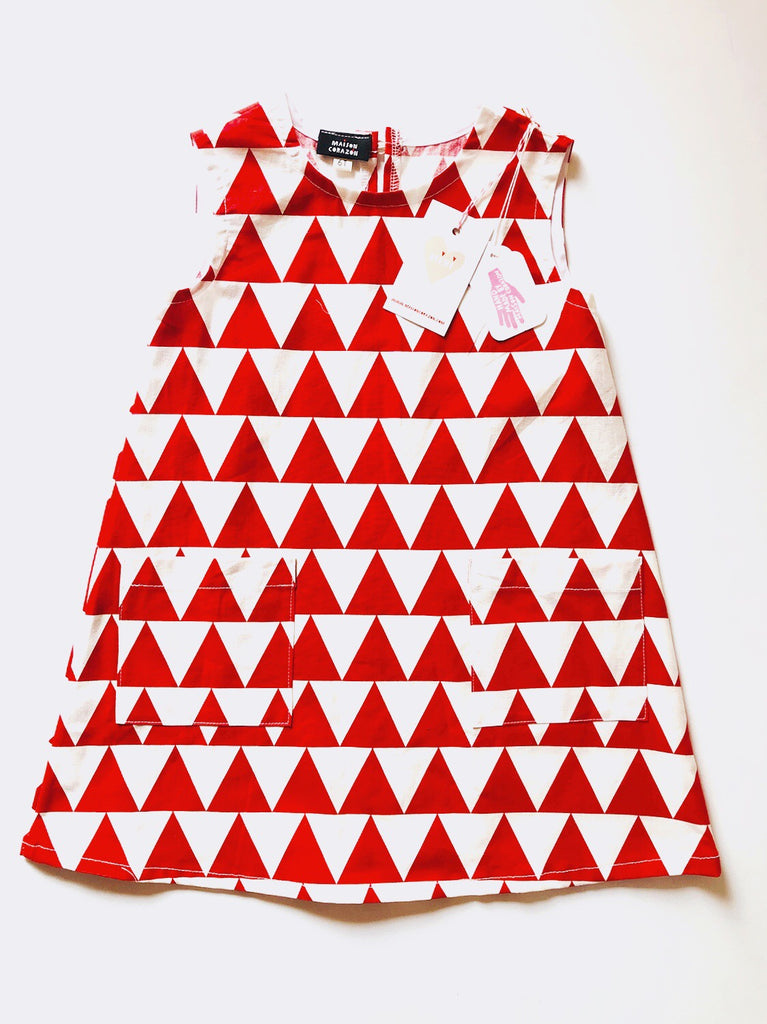 Mod Dress - Red Alps