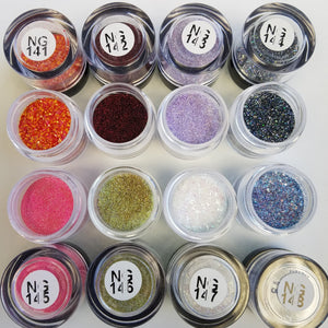 Princess Nail Designs Glitter #141-148