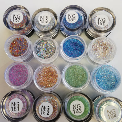 Princess Nail Designs Glitter #157-164