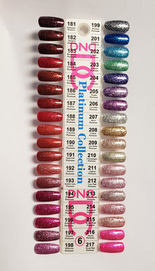 DND DC Platinum Collection Gel Polish (181-217)