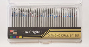 30pc Russian Manicure Diamond Drill Bit Set