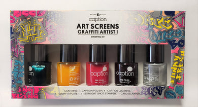 Young Nails Caption Art Screens Graffiti Artist I