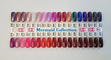 DND DC Mermaid Collection Gel Polish (218-253)