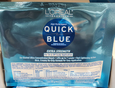L'oreal Qiuck Blue powder bleach
