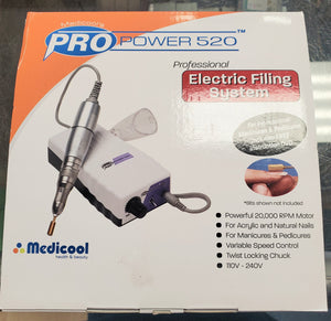 Medicools Pro power 520 electric filing system
