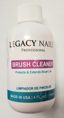 Legacy nails brush cleaner
