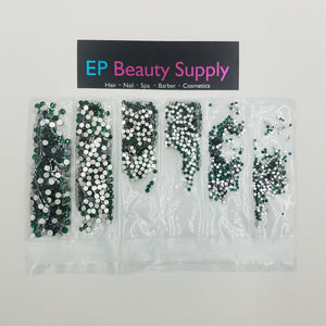High Quality Glass Crystals Multi Size Pack 1,680pcs