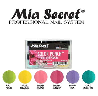 Mia Secret Color Punch Acrylic Collection (6 colors)