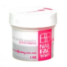 Nail Factory Acrylic Sculpting Powders (Crystal/White/Pink)