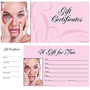 DL Book of 50 Gift Certificates