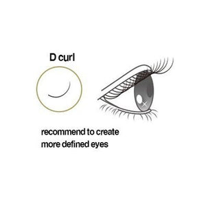 Sassi Mink Eyelash Extension D Curl