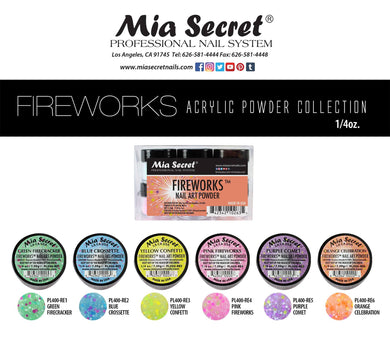 Mia Secret Fireworks Acrylic Collection (6 colors)