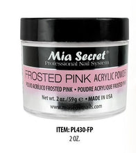 Mia Secret Frosted Pink Acrylic Powder