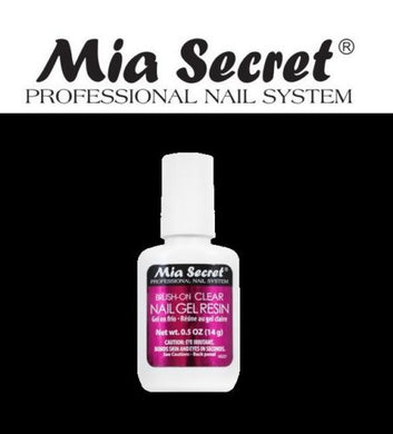 Mia Secret Brush-on Clear Gel Resin and Resin Activator
