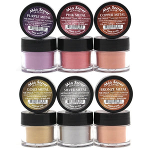 Mia Secret Metallic Acrylic Collection (6 colors)